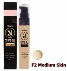 25g mistine 24 cover all foundation