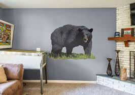 Fathead Black Bear Large Wall Decal Giant Removeable Etsy