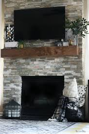 how to style a mantel fireplace