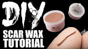 scar wax homemade and 2 recipes