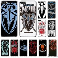 Mobile Phone Case For Huawei Honor 7a 7c 7x 6a 8 8x 8c 9 9x View 20 Note 10 Lite Cover Roman Reigns Logo Spider Wrestling Aliexpress