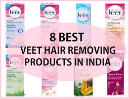 8 veet hair removal creams and waxing