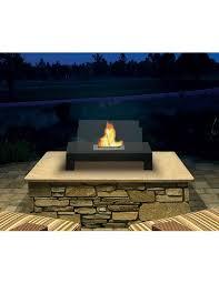 gramercy indoor outdoor fireplace