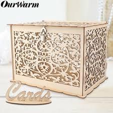 gift card case money box diy wedding