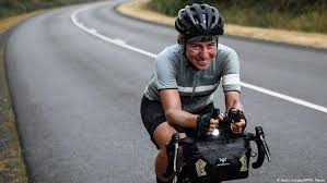 woman wins ultra distance cycling event