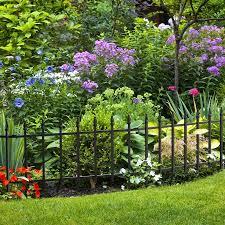 Garden Accents Common 0 99 X 22 5 X 17 9 Actual 0 99 X 22 5 X 17 9 Black Steel Not Wood Garden Edging In The Garden Fencing Department At Lowes Com