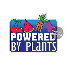 Powered By Plants Sticker Vegan Vegetarian Car Decal Laptop Etsy Bumper Stickers Stickers Laptop Decal