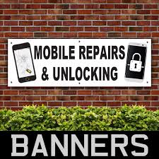 Choose Your Size Cellphone Cell Phone Repair Perforated Window Vinyl Decal New Restaurant Signs Business Industrial 32baar Com