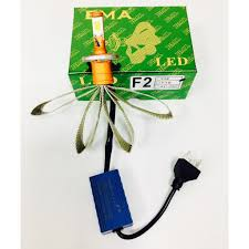 BMA Led - Bóng đèn Led xe máy chân HS1 - Đèn Led chân H4 - 12v Điện máy AC  (mẫu mới)