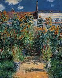 garden at vétheuil norton simon museum
