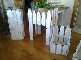 Picket Fences Salvaged Repurposed Picket Fence Crafts Fence Decor Diy Fence