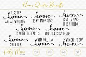 home quotes svg bundle