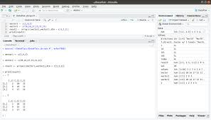 r array function and create array in r