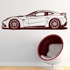 Wall Decal Ferrari 599 Gtb Fiorano Muraldecal Com