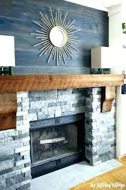 painting stone fireplace ideas