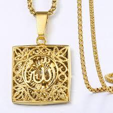 womens mens gold pendant necklaces