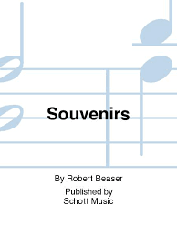 Souvenirs By Robert Beaser - Sheet Music For Piccolo And Piano (Buy Print  Music HL.49012843 From Helicon Music At Sheet Music Plus)