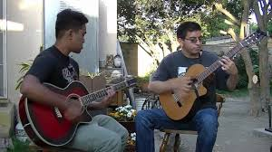 Everlong by Foo Fighters (Acoustic Cover) - Ray Dee and Adrian Rendon -  YouTube