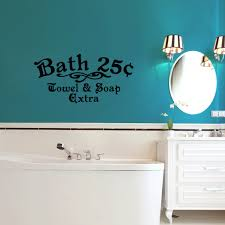 Bath 25 Cents Wall Decal Sweetums Wall Decals