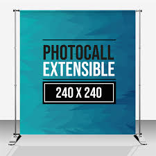 photocall extensible 240x240
