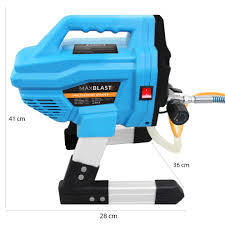 650w Commercial Airless Paint Sprayer Electric Air Spray Gun Kit On Onbuy