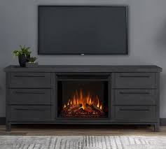 67 parsons electric fireplace media