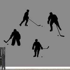 Hockey Wall Decals Wall Decor Stickers