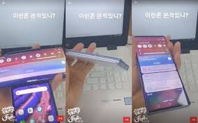 LG Wing phone with secondary screen in ...
