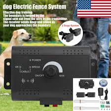 2 Dog Shock Collars Kd 660b Rechargeable Pet Electronic Fence Fencing System Electronic Fences Pet Supplies Rgcollege Com