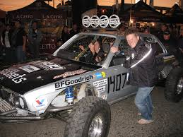 baja racing with a bmw a dream and not