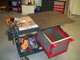 multifunctional diy welding cart