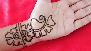 mehndi design in arabic easy