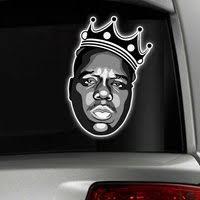 Notorious Big Sticker Decal Car Window Rap Old School H