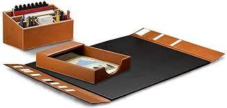 com levenger morgan desk set
