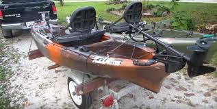 can i put a trolling motor on a kayak