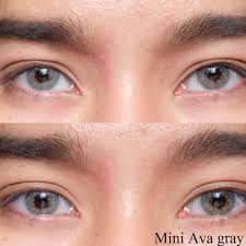 Kitty Mini Ava Gray | Softlens Queen - Natural Colored Contact Lenses