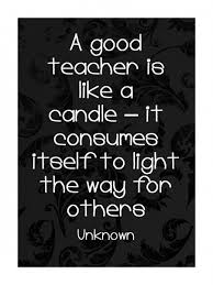 candle for teacher gift poem teacher appreciation quotes
