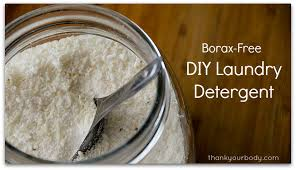 how to make borax free laundry detergent