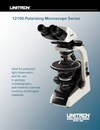 12100 polarizing microscope series