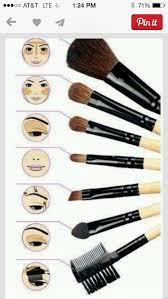 quick guide to makeup brushes by