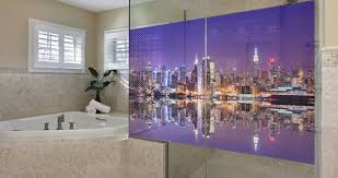 New York City Skyline See Through Window Decals Dezign With A Z