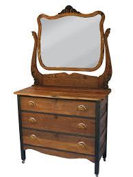 antique dresser w amber pulls