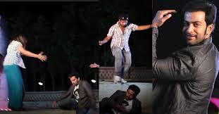 when an injured prithviraj kept working