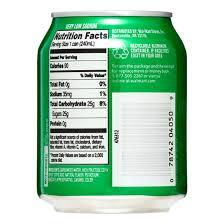 ginger ale nutrition label trovoadasonhos
