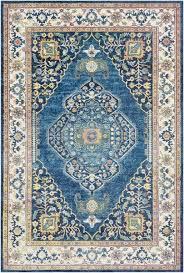 tillamook sky blue bright blue area rug
