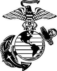 Usmc Marine Eagle Globe Anchor Decal Marine Corps Emblem Military Graphics Vinyl Decals