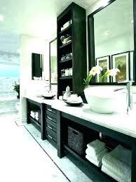 glamorous small white bathroom cabinet