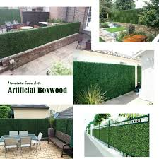Indoor Outdoor Artificial Hedge Artificial Plant Great Boxwood Ivy Substitute Sound Diffuser Privacy Fence Hedge Topiary Gardenia Greenery Panels 20x20 24pc Walmart Com Walmart Com