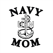 Navy Mom Us Navy Mom Us Navy Vinyl Decal Vinyl Sticker Decal Etsy