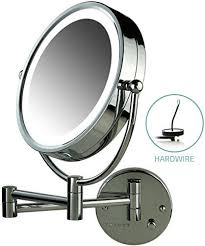 ovente lighted wall mount mirror 8 5